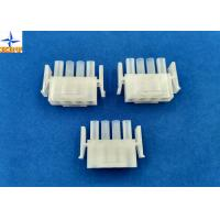 Quality Electronic Single Row Housing Wire To Wire Connectors 6.35mm Pitch Male Housing for sale