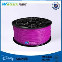 China 20 Colors 3d Printing Materials Nylon ABS PLA Filament 210 Degree Odor Harmless on sale
