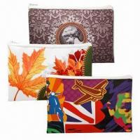 Quality Colorful Heavy-duty Polyester Convenience Bags, Made by Sublimation for sale