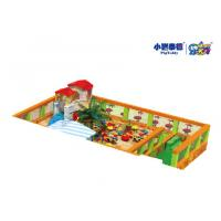 Quality Outdoor Square Large Childrens Sandpit , Indoor Playground Childrens Play Sand Pits for sale
