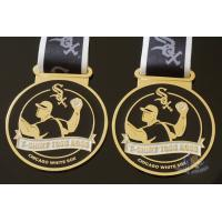 Quality Toss Metal Awards Custom Sports Medals Bespoke Design Sublimated Ribbon for sale