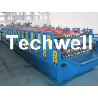 Quality 0 - 15m/min Forming Speed Double Layer Forming Machine For Roof Wall Panels for sale
