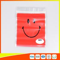 Quality OEM Custom Printed Ziplock Bags Plastic Grip Seal Poly Bag With Heat Seal for sale