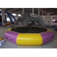 Quality Outdoor Lake airtight inflatable water trampoline  Sealed Waterproof Water bouncer float for sale for sale