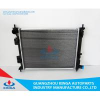 Quality Aluminum Hyundai Radiator VERNA MT OEM 25310-0U000 Core Thickness 16mm With Heater Tank for sale