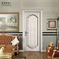 Quality Luxury Commercial Solid Core Wood Doors / Strong White Wood Interior Doors for sale