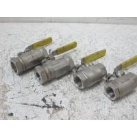 China Water / Oil / Gas Full bore Floating Ball Valve As NACE Compliance , Size By  1/2 # 800 SW for sale
