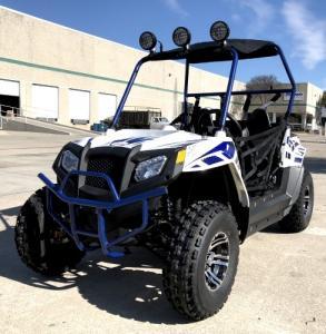 Quality Monster Golf Cart UTV 170cc 180XL Utility Vehicle W/LED Lights & Custom Rims/Tires for sale