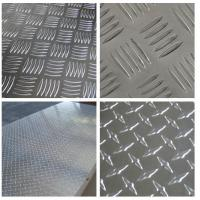 Buy Embossed High Glossy Aluminium Checker Plate 12000mm Length For Interior at wholesale prices