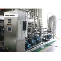 Quality Efficient Energy Saving Carbonated Filling Machine Mounted With  Stainless Steel Control Cabinet for sale