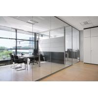 Quality Conference Room Decorative Aluminum Clear Glass Sliding Partition Walls for sale