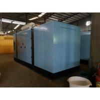Quality Cummins Silent Diesel Generator Set 300kva 230V / 400V AC Three Phase Long Service Life for sale