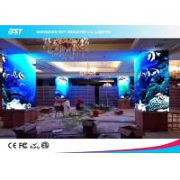 Quality Electronic P4 Curved Indoor Advertising LED Display 100000 Hours Lifetime For Big Mall for sale