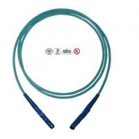 Quality E2000 PC Fiber Optic Patch Cord Single Core , OM3 Cable 2.0mm Diameter for sale