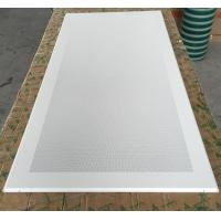 China Perforated Aluminum / Metal Soundproof Ceiling Panels , Fire Resistant Ceiling Tiles Dia 1.8mm on sale