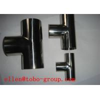 Quality TOBO STEEL Group  ASTM A815 WP S31803 lateral tee for sale