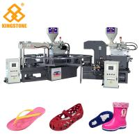 Buy cheap Rotary Two Color PVC Jelly Sandal Injection Molding Machine 4.3*3.3*2.9m / 2 from wholesalers