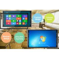 Hight Resolution 84 Inch IR Multi Touch TFT Touch Screen LCD Monitor for Teaching, Present