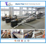 Quality PE PVC WPC Garden Column Cover Profile WPC Panel Extrusion Machine for sale