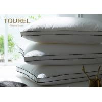 Quality OEM Polyester Neck And Head Hotel Comfort Pillows With Memory Foam for sale