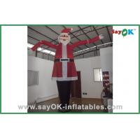 Quality Santa Claus Advertising Inflatable Air Dancer For Christmas Celebrate for sale