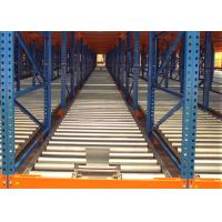 Quality Industrial Steel Gravity Flow Racking Systems For Space Saving for sale