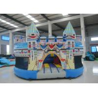 Quality 0.55mm Pvc Tarpaulin Kids Inflatable Bounce House 5 X 5 X 3m For Water Park for sale