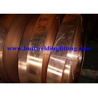 Quality Oxygen Free C10200 Copper Strip / Copper Width Coils 7-610mm For Switch Parts for sale