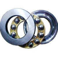 Quality Low Friction Single Row Ball Bearing Axial Tolerance P0 51311M With Brass Cage for sale