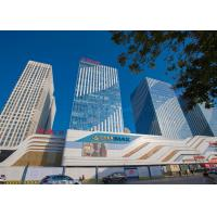 Quality Aluminum Facade/Curtain Wall/Cladding Panels For WanDa Plaza Decoration for sale