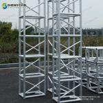 Quality Jiangsu Wuxi Manufacturer outdoor event stage aluminium spigot truss fast build stage trusses light truss for sale