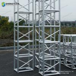 Quality Plastic square spigot truss made in China Aluminium cheap Spigot Truss For Sale , exhibition Truss, concert stage Truss for sale
