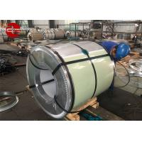 China Cold Rolled Hot - Dip Galvanized Steel Coil Zinc Coating JIS G3312 ASTM A653M on sale