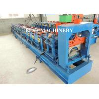 Quality Metal Roof Ridge Cap Roll Forming Machine / Corrugated Roof Sheet for sale