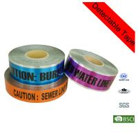 Quality Printed Utility Electrical Caution Line Marking Underground Detectable Warning Tape for sale