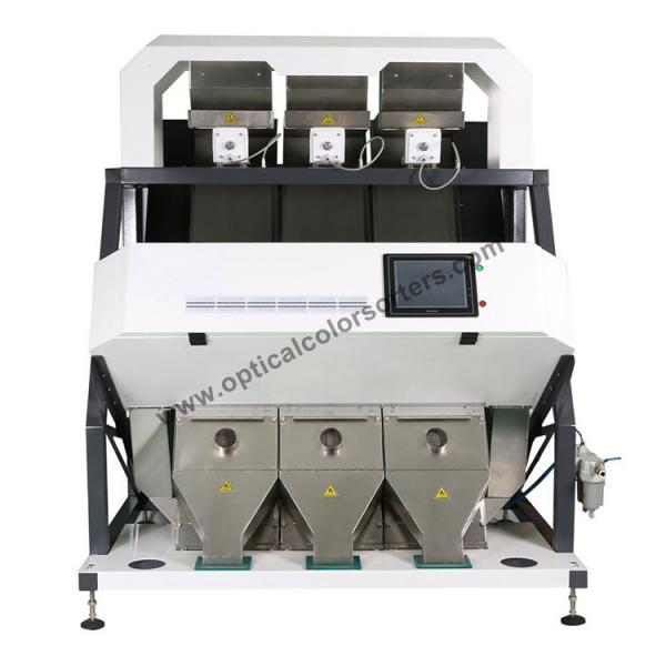 Buy Intelligent Rice Color Sorter Machine , Large Output Grain Colour Sorter at wholesale prices