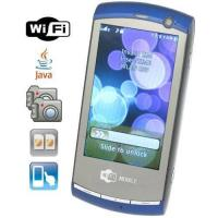 Quad Band Wi-Fi Cellphones with Touch Screen + Dual Camera Support Java