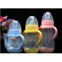 Quality BPA Free super wide neck Temperature change color PPSU baby feeding bottle 180ml-300ml for sale