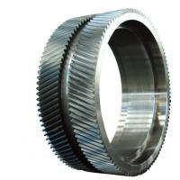 Quality 20CrMnMo 42CrMo Forged Steel Rings / Mchanical Gear Ring Forging For Wind Power for sale
