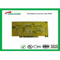Quality Gold Finger PCB for Computer 4 Layer PCB Thickness 1.6mm Immersion Gold UL , ROHS , ISO for sale