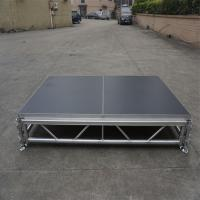 China Aluminium portable stage,moving stage,collapsible stage # wedding event stage on sale