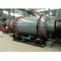 Sludge Rotary Triple Drum Dryer Rotary Industrial Small Size For Building Materials for sale