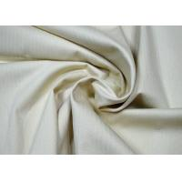 Buy cheap Durable Herringbone Cotton Twill Fabric Anti - Static No Harmful Chemicals from wholesalers