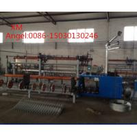 Quality 4m width  Full Automatic double wire feeding Chain Link Fence Machine for sale