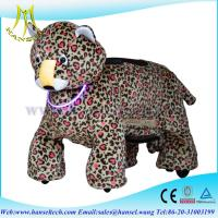 Quality Hansel animal kids-coin-operated pug walking animal rides animal riding coing for sale