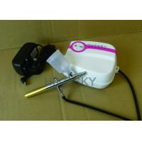 Quality Oil Free 5 Speed Professional Airbrush Tanning Kit for Airbrush Tanning and Tattoo, 19 PSI for sale