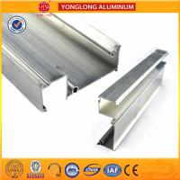 Quality Machinable Anodized Aluminum Profiles , Oval Aluminium Tower Scaffold for sale