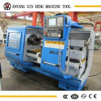 Quality External Dia.of pipes 120mm cnc pipe threading lathe with cheap price QK1212 for sale