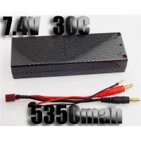 Quality Manufacturer of RC car Battery,7.4V 30C 5350mah,RC Lipo Battery for sale