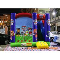 Quality 4.3 * 4m Inflatable Childrens Bouncy Castle Paw - Patrol Deluxe Jumper for sale